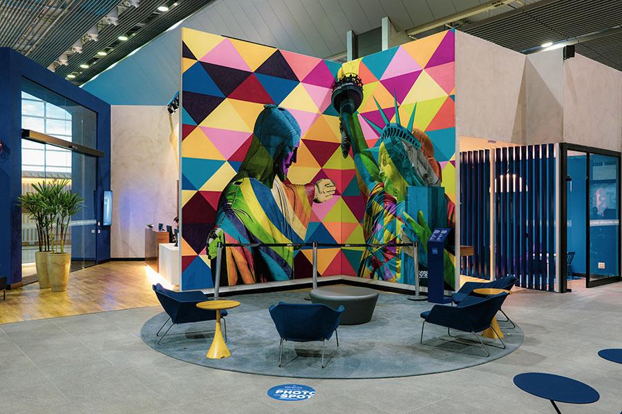 GRU NovoAMEX Kobra - GRU | American Express Lounge é inaugurado oficialmente em Guarulhos