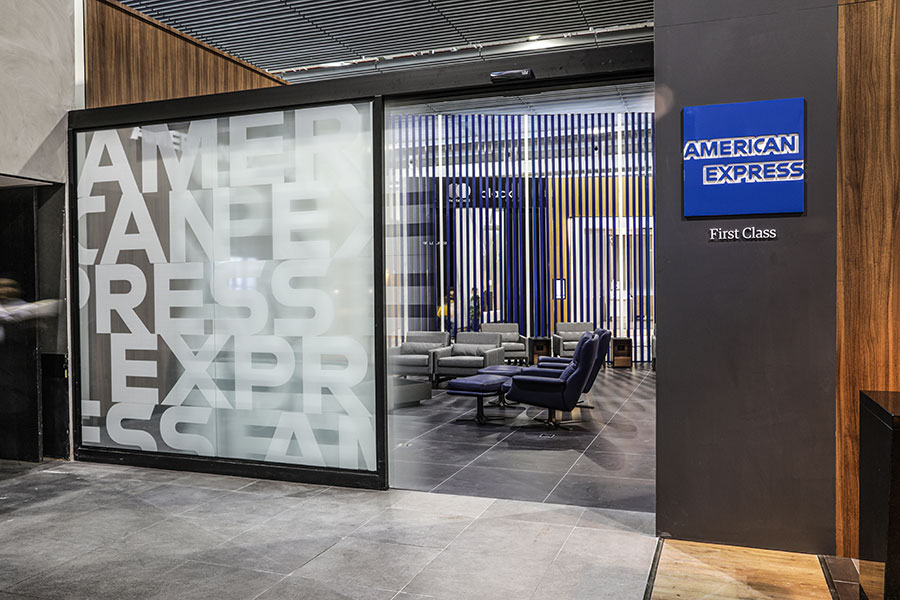 GRU NovoAMEX Lounge - GRU | American Express Lounge é inaugurado oficialmente em Guarulhos