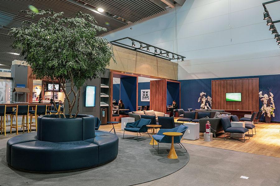 GRU NovoAMEX Overview - GRU | American Express Lounge é inaugurado oficialmente em Guarulhos