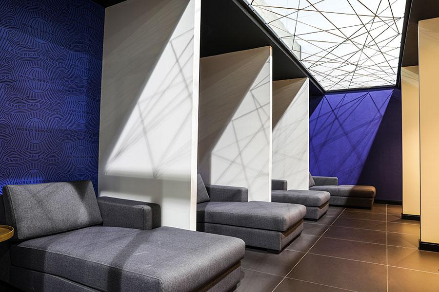 GRU NovoAMEX Sleep - GRU | American Express Lounge é inaugurado oficialmente em Guarulhos