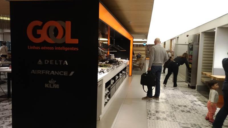 GRU GolPremiumIntl BRAND - GRU | Gol Premium Lounge Terminal 2 Internacional em Guarulhos