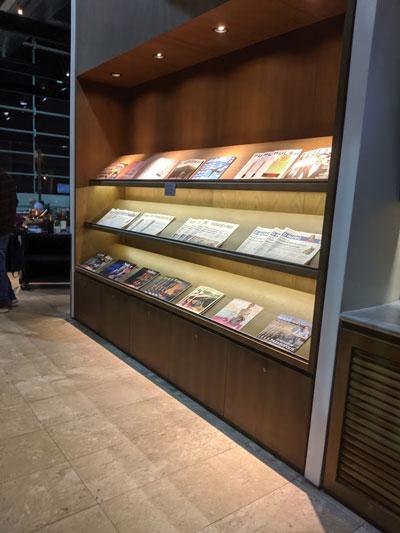 GRU Latam Jornais - GRU | Latam VIP Lounge no Aeroporto de Guarulhos
