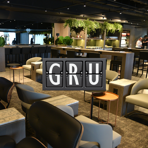 GRU MasterBlack MinhaSalaVIP - GRU | Lounge by Master Card Black em Guarulhos