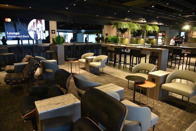 GRU MasterBlack Overview - GRU | Master Card inaugura lounge expresso para clientes Black em Guarulhos