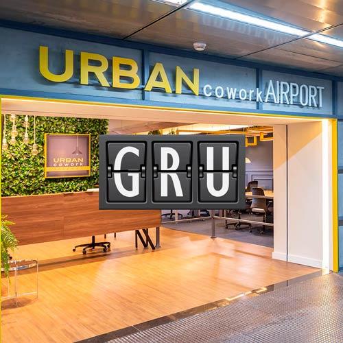 GRU UrbanCoWork MinhaSalaVIP - GRU | Urban Cowork Lounge no Aeroporto de Guarulhos