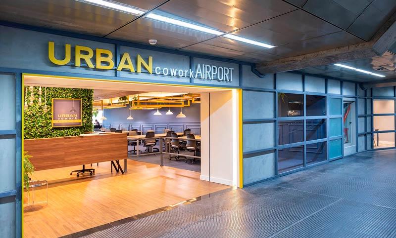 GRU Urban Entrada - GRU | Urban Cowork Lounge no Aeroporto de Guarulhos
