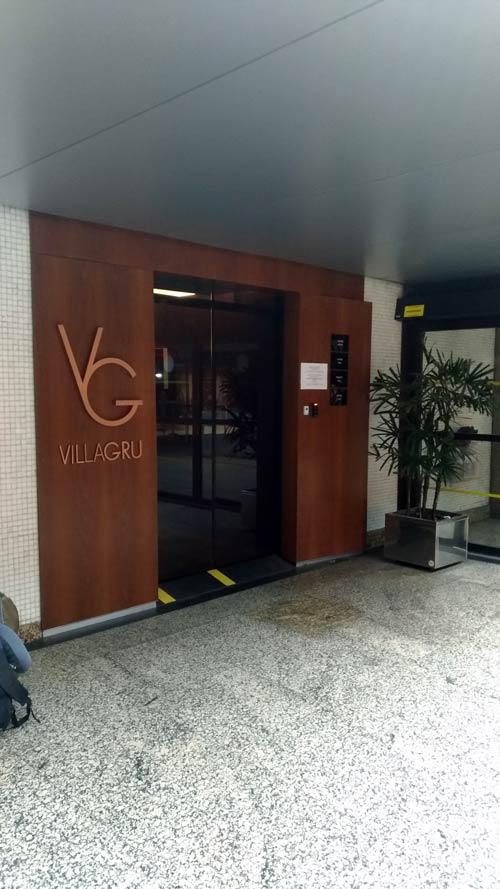 GRU VillaGRU entrada - GRU | Sala Villa GRU Aeroporto de Guarulhos em São Paulo