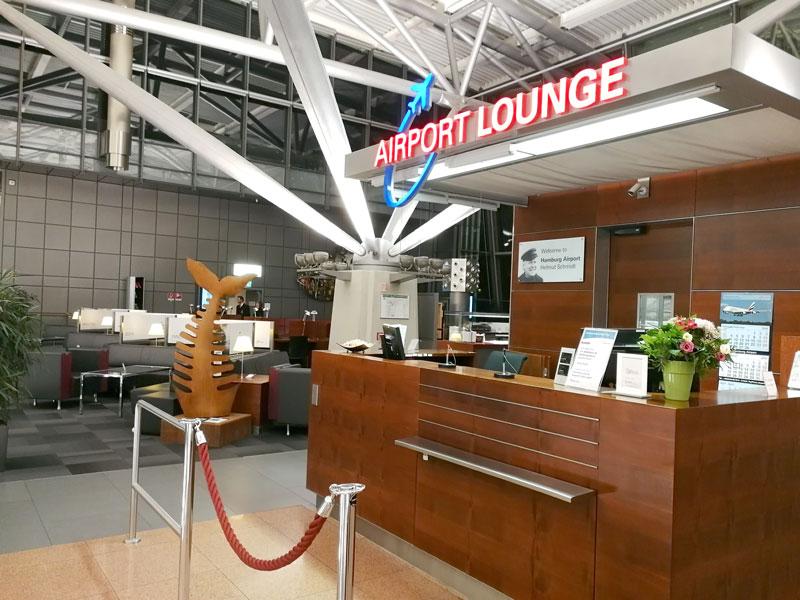 HAM 2 Entrada - HAM | Airport Lounge no Aeroporto Fuhlsbuettel em Hamburgo, na Alemanha