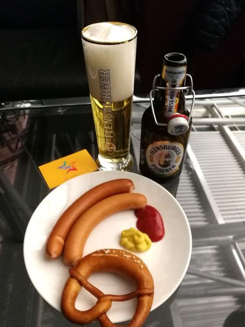 HAM 2 Frankfurter - HAM | Airport Lounge no Aeroporto Fuhlsbuettel em Hamburgo, na Alemanha