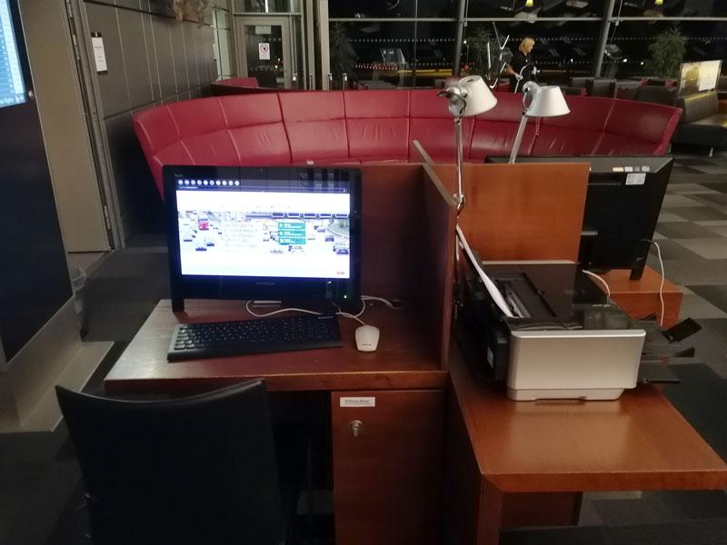HAM 2 Workstation - HAM | Airport Lounge no Aeroporto Fuhlsbuettel em Hamburgo, na Alemanha