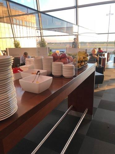 HAM AirportLounge Buffet - HAM | Airport Lounge no Aeroporto Fuhlsbuettel em Hamburgo, na Alemanha