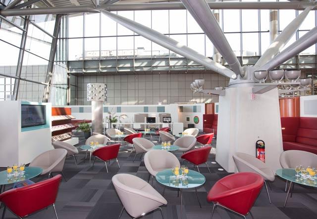 HAM AirportLounge Overview - HAM | Airport Lounge no Aeroporto Fuhlsbuettel em Hamburgo, na Alemanha
