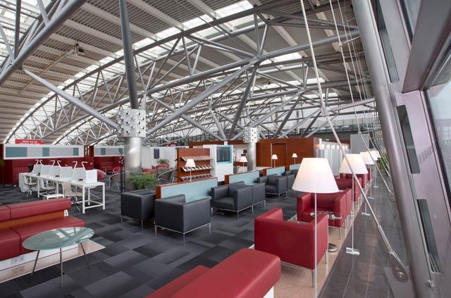 HAM AirportLounge Overview2 - HAM | Airport Lounge no Aeroporto Fuhlsbuettel em Hamburgo, na Alemanha