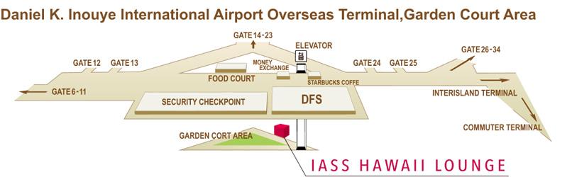 item hawaii 01 - HNL   IASS Lounge Honolulu Airport
