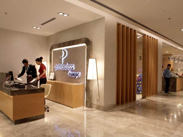 IST Primeclass Recepcao - IST | Primeclass CIP Lounge no Aeroporto de Istambul na Turquia