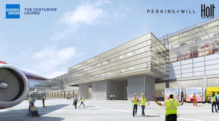JFK CenturionProjetol - JFK | Inauguração do maior Centurion Lounge do mundo ficou para 2020