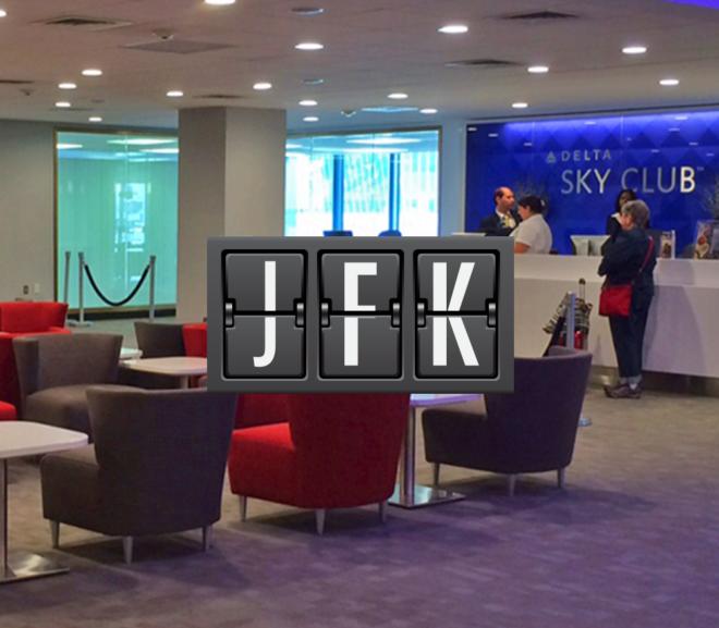 JFK Delta Sky Club Terminal 2