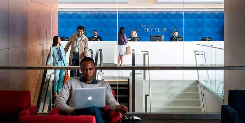 JFK DSCT4 DivulgacaoDelta - JFK – [Atualizado] Delta Sky Club Terminal 4 Aeroporto JFK em Nova Iorque