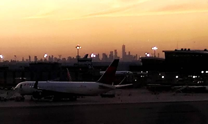 JFK DSCT4 VISTA - JFK – [Atualizado] Delta Sky Club Terminal 4 Aeroporto JFK em Nova Iorque