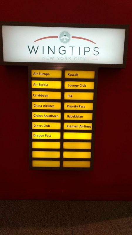 JFK Wingtips Parceiros MinhaSalaVIP - JFK – Wingtips Lounge Terminal 4 Nova Iorque