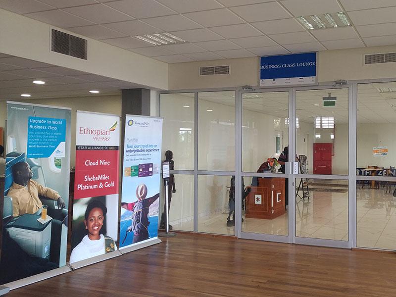 JRO entrada MinhaSalaVIP - JRO | Tanzanite Lounge Kilimanjaro Airport