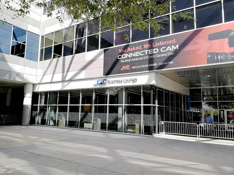 LAS LVCC Externo - American Express Business Lounge Las Vegas Convention Center