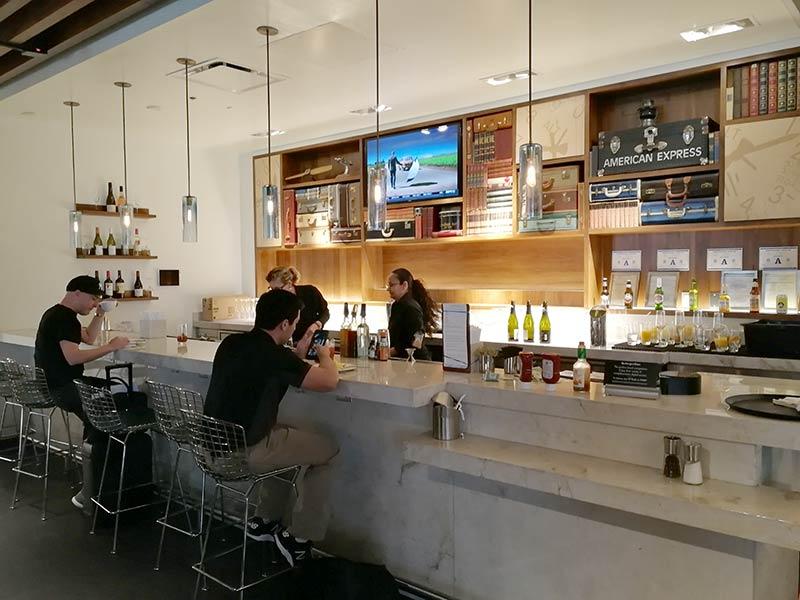 LAS Centurion Bar - LAS | American Express Centurion Lounge Las Vegas