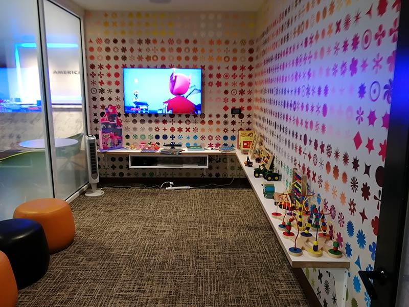 LAS Centurion KidsArea - LAS | American Express Centurion Lounge Las Vegas