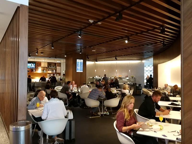 LAS Centurion Overview Mesas - LAS | American Express Centurion Lounge Las Vegas