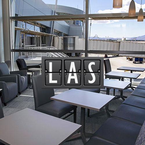LAS NewTheClubLounge MinhaSalaVIP - LAS | Novo The Club at LAS no Aeroporto Internacional de Las Vegas