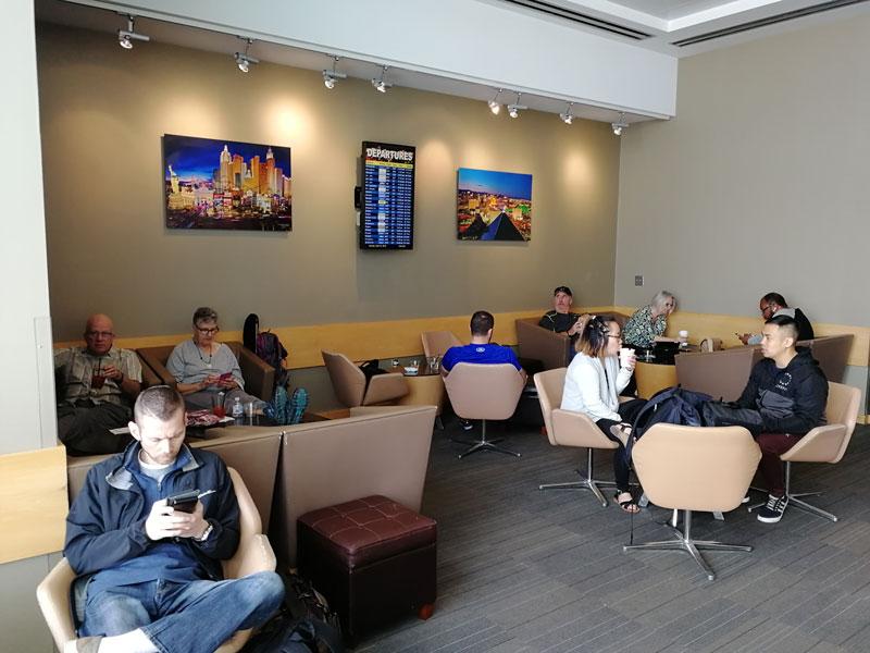 LAS TheClub salamaior - LAS | The Club Terminal 1 no Aeroporto de Las Vegas
