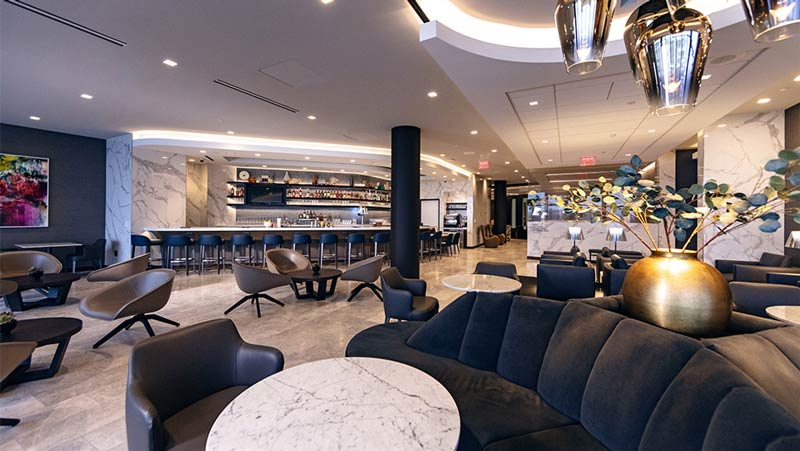 LAX Polaris Overview - LAX | United inaugura Polaris Lounge em Los Angeles