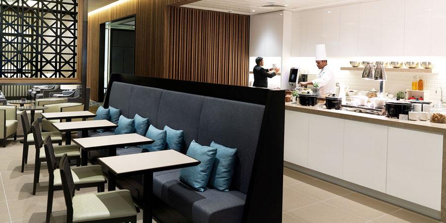 LHR PlazaT2 alimentacao - LHR | Conheça a melhor sala VIP independente do mundo