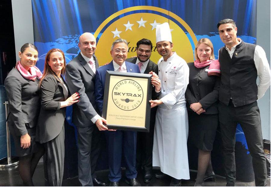 LHR PlazaT2 award - LHR | Conheça a melhor sala VIP independente do mundo