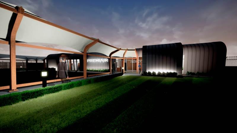 MAN PremiAirTerminal Fachada - MAN | Aeroporto de Manchester anuncia construção de um terminal premium