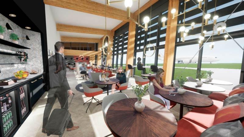 MAN PremiAirTerminal Interno - MAN | Aeroporto de Manchester anuncia construção de um terminal premium