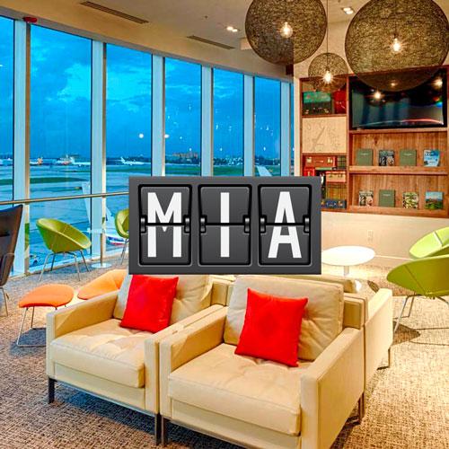 Centurion Lounge American Express Aeroporto Internacional de Miami