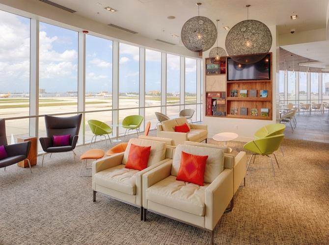 MIA CenturionMia lounge - MIA | American Express reinaugura Centurion Lounge de Miami