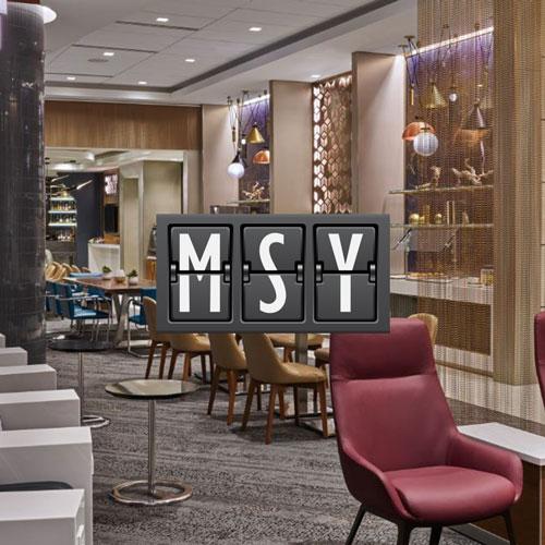 MSY NewOrleansSkyClub MAin - MSY | Delta inaugura novo Sky Club no Aeroporto de New Orleans