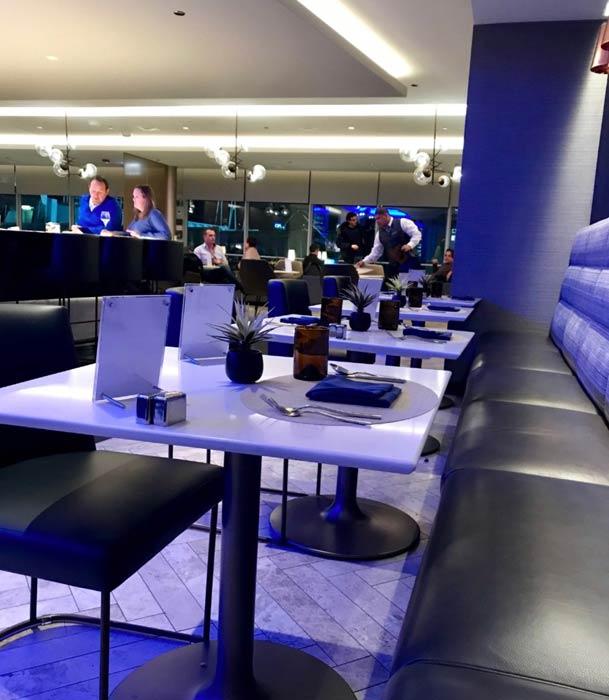 ORD Polaris Refeicoes Eyecoin - ORD | Conheça o melhor lounge dos Estados Unidos