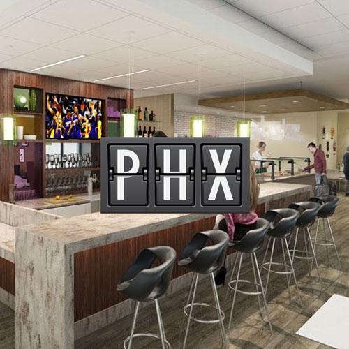 PHX AmericanExpress Lounges - EUA | American Express anuncia duas salas próprias no Aeroporto de Phoenix