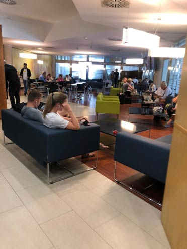 PMI Mallorca 003 - PMI   Lounge VIP Mediterrâneo em Palma de Mallorca, na Espanha