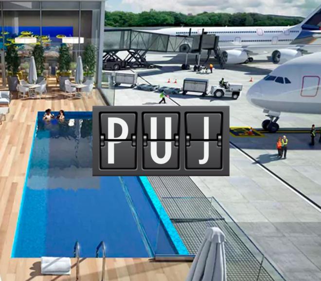 PUJ loungeVIP MinhaSalaVIP 1 660x577 - PUJ | Aeroporto de Punta Cana inaugura piscina no VIP Lounge