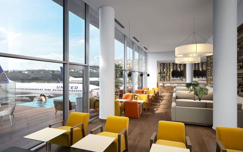 PUJ loungeVIP projeto2 MinhaSalaVIP - PUJ | Aeroporto de Punta Cana inaugura piscina no VIP Lounge