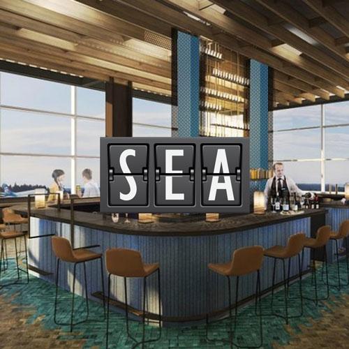 SEA AlaskaLoungePPas - SEA | Alaska Airlines inaugura nova sala VIP no Aeroporto de Seattle Tacoma