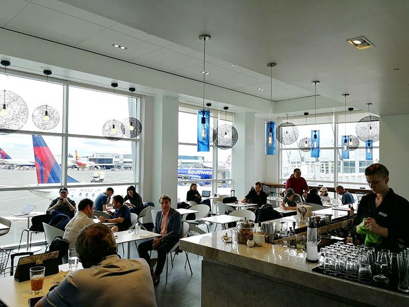 SEA Centurion Vista - SEA | The Centurion Lounge Seattle Tacoma Airport