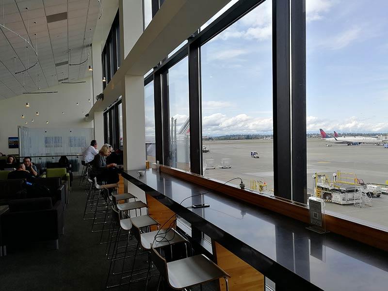 SEA TheClubS Vista - SEA | The Club At Sea Terminal S Seattle Tacoma Airport