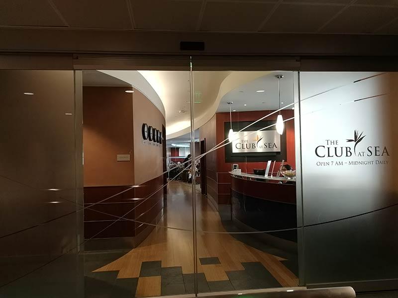 SEA TheClubA Entrada 1 - SEA | The Club At Sea Terminal A Seattle Tacoma Airport