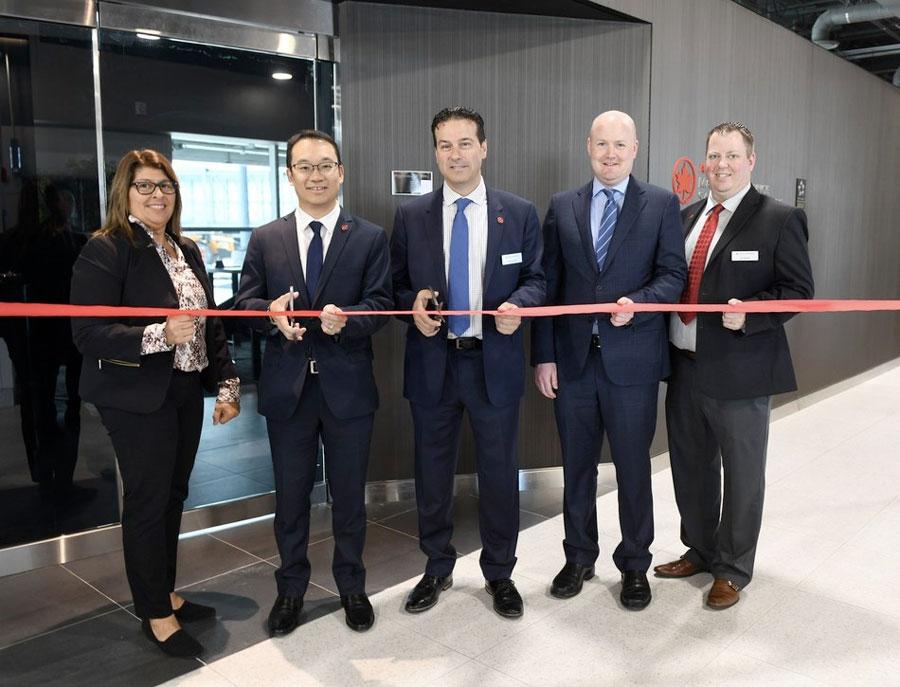 YYZ MapleExpressInaug - YYZ | Air Canada inaugura lounge expresso no Aeroporto Internacional de Toronto