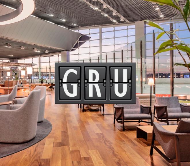 GRU Star Alliance Lounge Minha Sala VIP